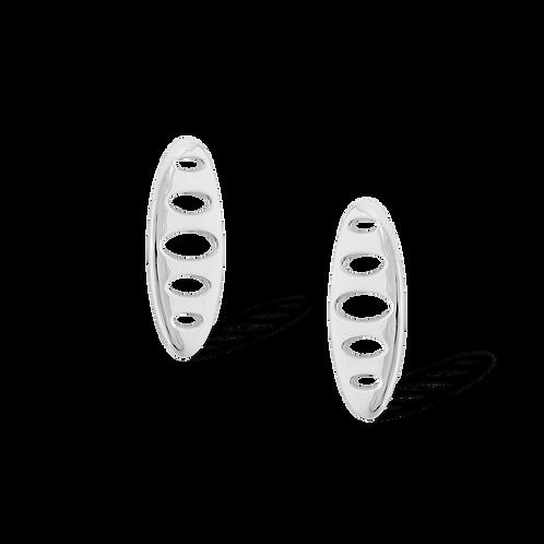 TSF Oval Holes Earrings