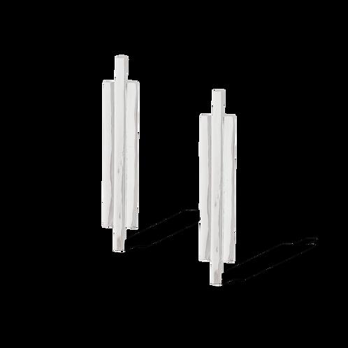 TSF Long Flat Earrings