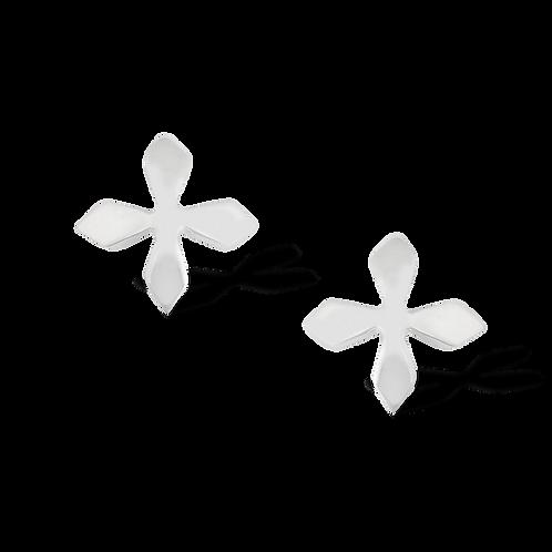 TSF Diamond Cross Earring Studd
