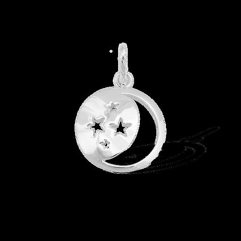 TSF Stars & Moon Pendant