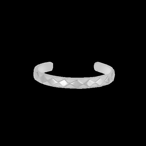 TSF Layered Square Cuff Bracelet