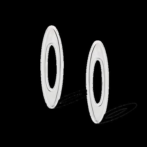 TSF Elongated Oval Earrings