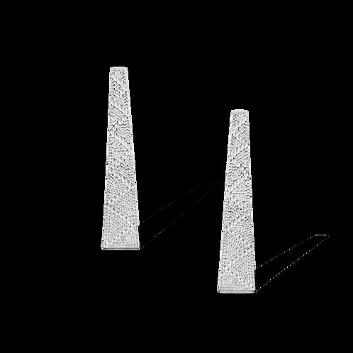 TSF Texture Bar Earrings