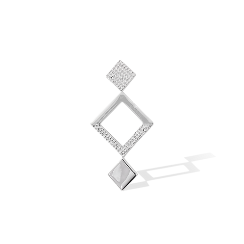 TSF Triple Square  Brooch