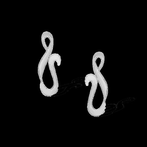 TSF Elegant Swirl Earrings