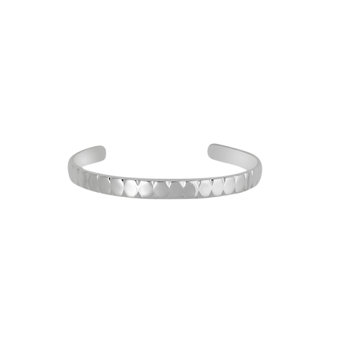 TSF Double V Groove Cuff Bracelet