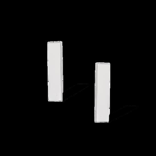 TSF Rectangle Bar Earrings