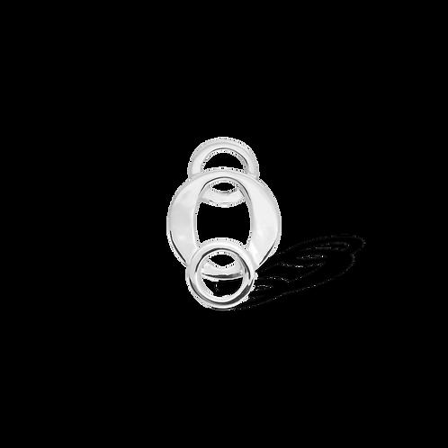 TSF Tri Circle Brooch