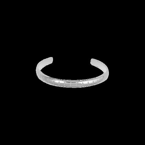 TSF Half Cut Round Cuff Bracelet
