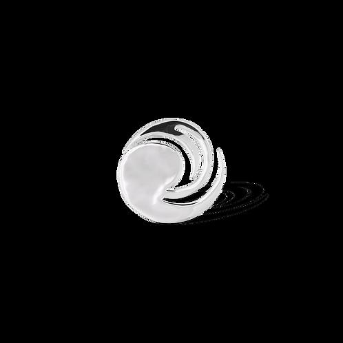 TSF Sharp Circle  Brooch