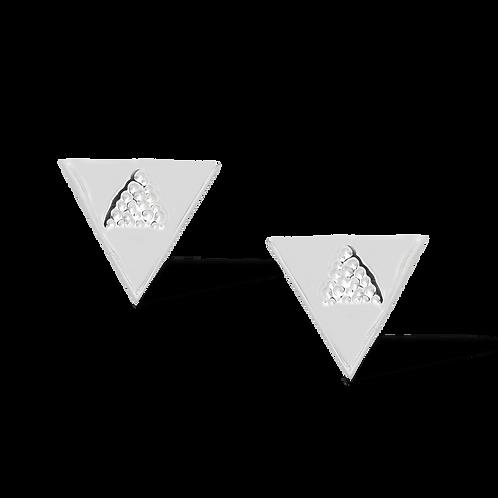 TSF Triangle Earring Studd