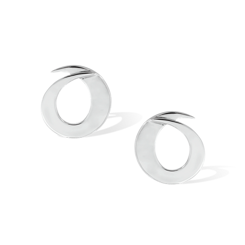 TSF Overlapping Oval Earrings