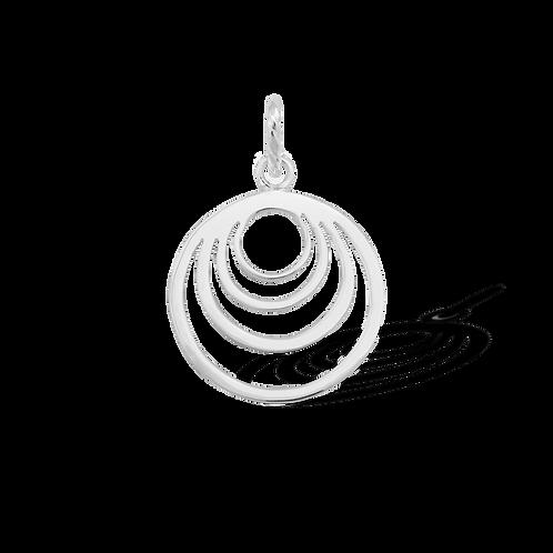 TSF Crescent Circle Pendant