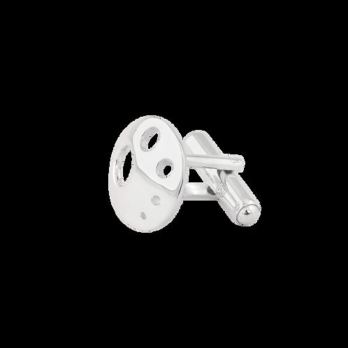 TSF Circles & Holes Cufflink