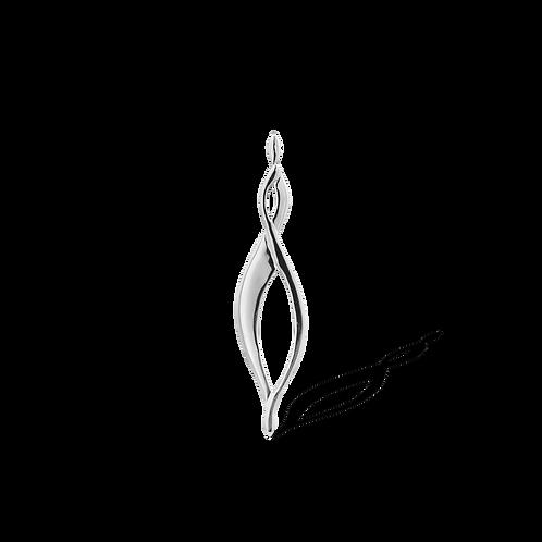 TSF Infinity Swirl Brooch