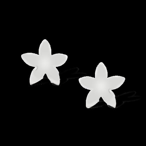 TSF Five Petal Flower Earring Studd