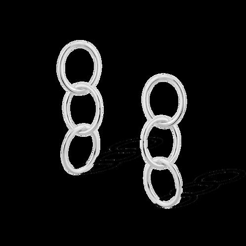 TSF Oval Rings Earring