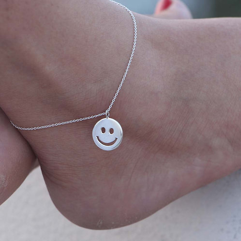 The Smiley Anklet