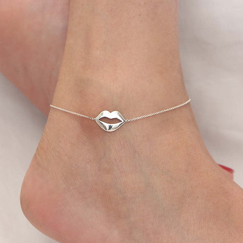 The Hot Lips Anklet