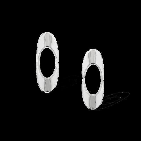 TSF Concave Bar Earrings