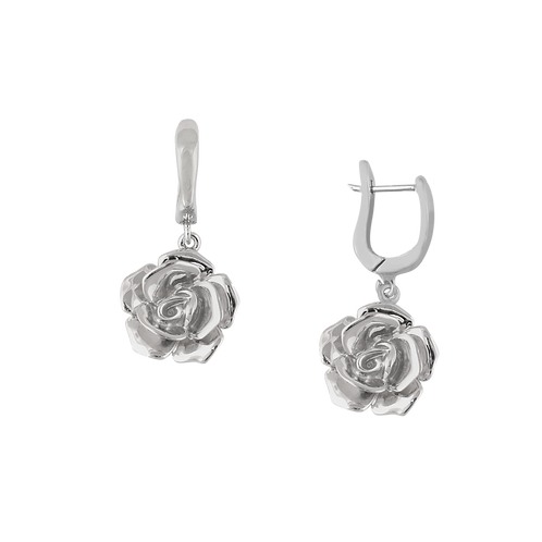 TSF Big Rose Earring