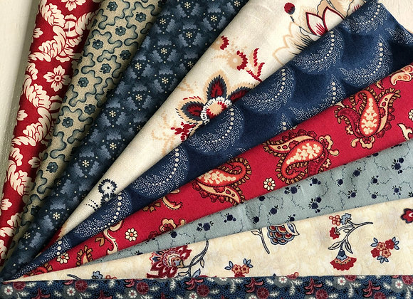 Country Quilting Fabric Roll