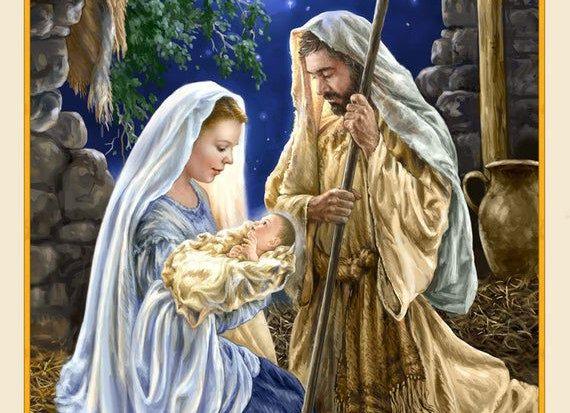 Nativity Scene by Timeless Treasures
