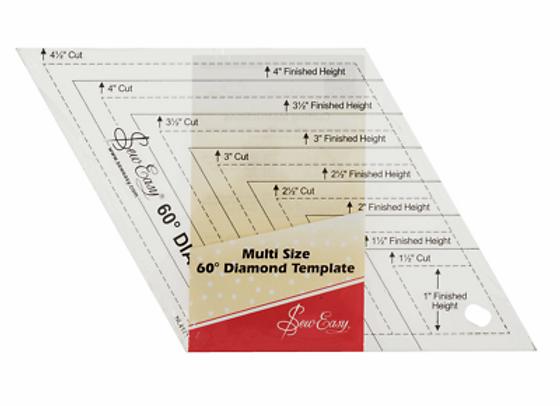 Sew Easy 60 Degree Diamond Template
