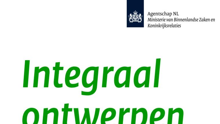 Infoblad 'Integraal ontwerpen' (RVO)