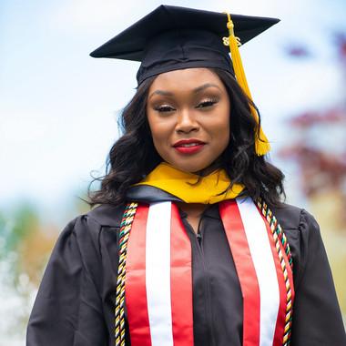Ashley, Graduate of Nazareth College