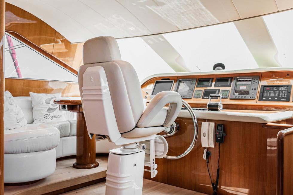 Private Boat Interior