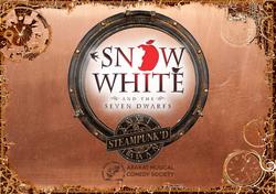 Snow White Steampunk'd Poster - A4 Lands