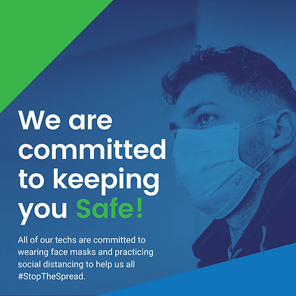 We're committed to keeping you safe. (3)