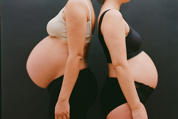 Image of two pregnant women