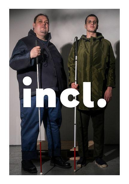 Image of two men holding walking sticks