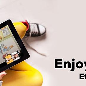 Ici Londres : Covid 19 Apprendre en ligne grâce à Etzou!