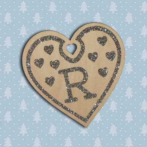 Laser cut brich ply Personalised  Christmas Decoration