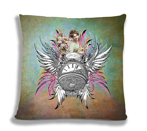 Cushion Cover - Happy Days