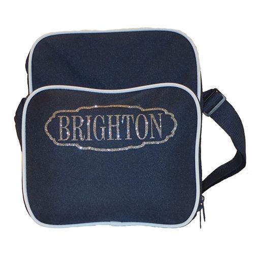 Brighton Retro Day Bag Navy