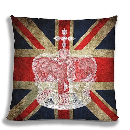 Cushion - Union Jack Crown