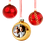 Thumbnail: Personalised Glass Christmas Bauble