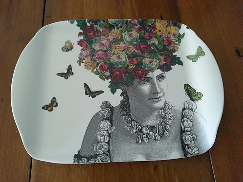 Small Tray - Butterfly Hair
