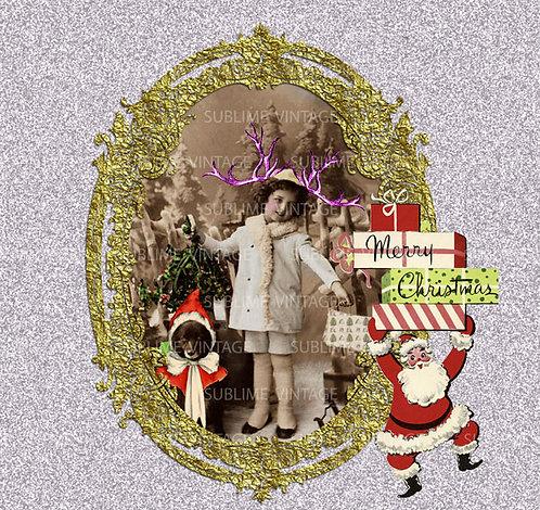CHRISTMAS GREETINGS CARD SVC 20
