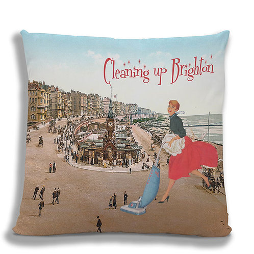 Cleaning up Brighton - Cushion