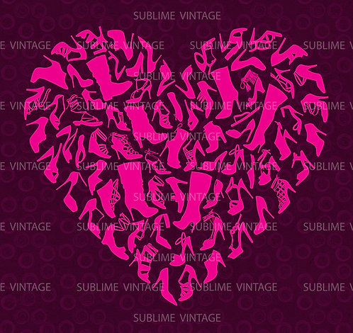 """Card SV19 """"Shoe Heart"""""""