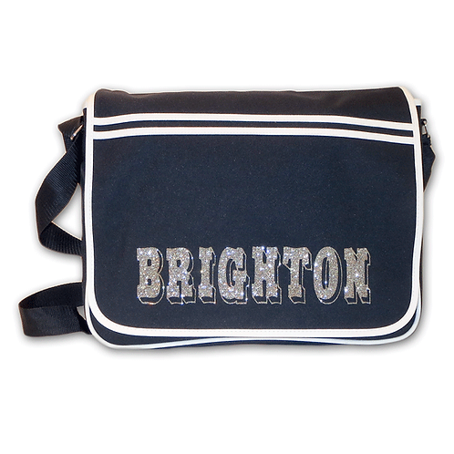 Brighton Retro Messenger Bag
