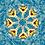 Thumbnail: Cushion - Dancer Paris Blue