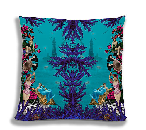 Cushion Cover - Pool side Swimming