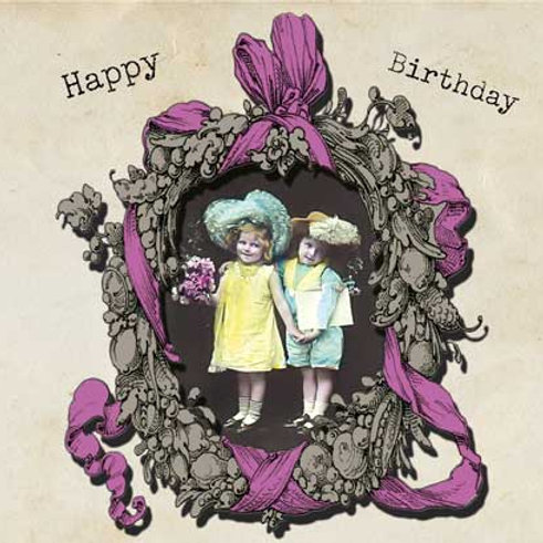 "Card SV26 ""Happy Birthday Kids"""