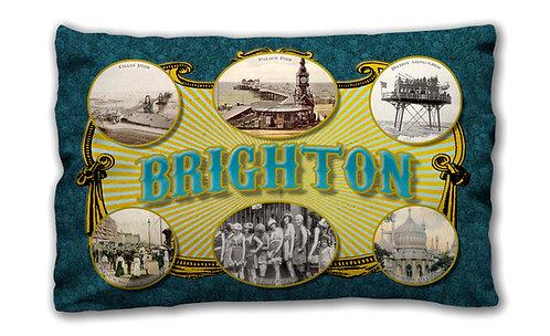 Brighton Ad - Oblong Cushion
